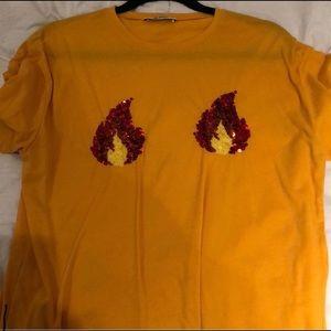 ZARA Flame Shirt